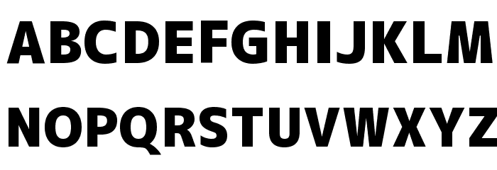 M+ 2c black Font UPPERCASE