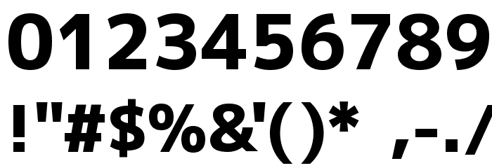 M+ 2p heavy Font OTHER CHARS