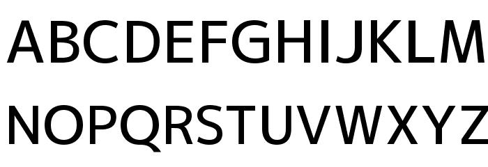 M+ 2p medium Font UPPERCASE