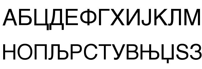 MAC C Swiss Font UPPERCASE