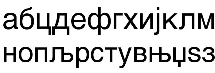 MAC C Swiss Font LOWERCASE