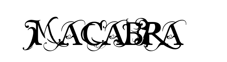 MACABRA  Free Fonts Download