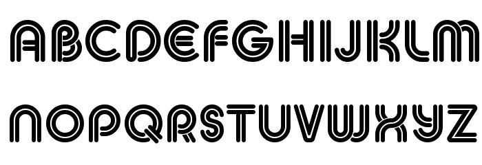 MACCOS DOUBLE Demo لخطوط تنزيل الأحرف الكبيرة