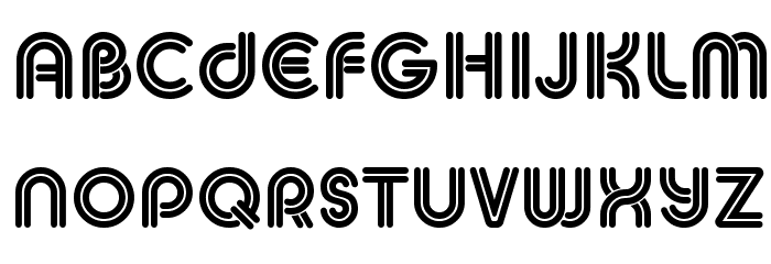 MACCOS DOUBLE Demo Font LOWERCASE