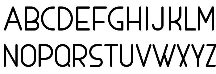MAXWELL REGULAR Schriftart Groß