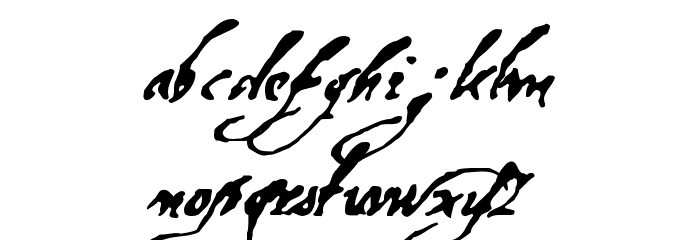 Machines Of God Regular Font LOWERCASE