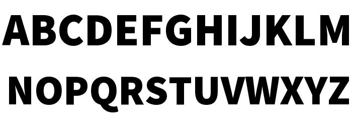 Mada Black Font UPPERCASE
