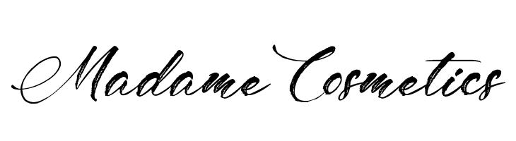 Madame Cosmetics Font - free fonts download