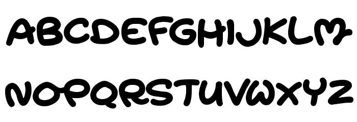 Magic Moonshine Font UPPERCASE