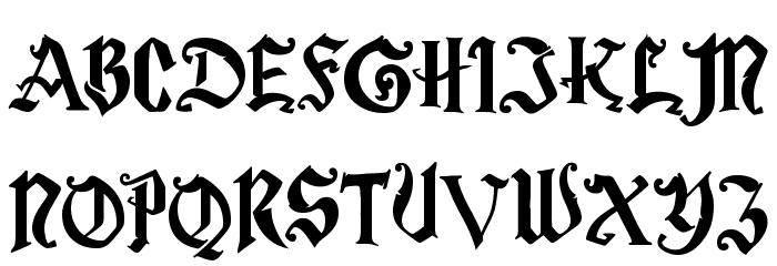 Magic School One Font Litere mari