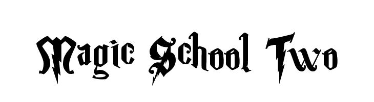 Magic School Two  Descarca Fonturi Gratis