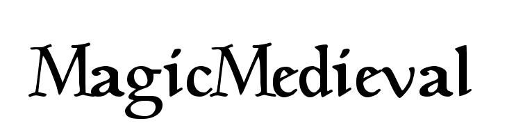 MagicMedieval  नि: शुल्क फ़ॉन्ट्स डाउनलोड