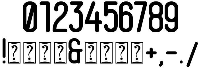 Magneum لخطوط تنزيل حرف أخرى