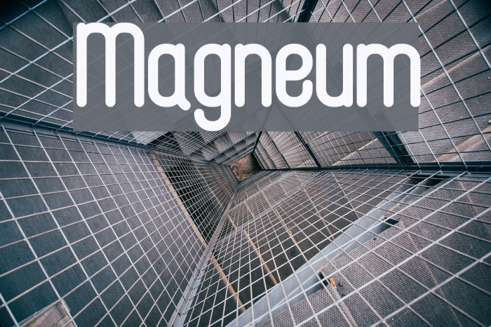 Magneum Fonte examples