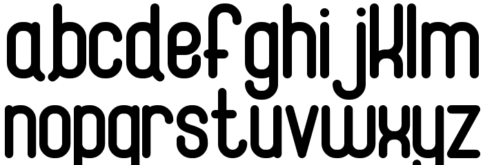 Magneum Font LOWERCASE