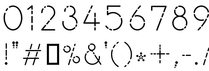 Mahamaya Шрифта ДРУГИЕ символов