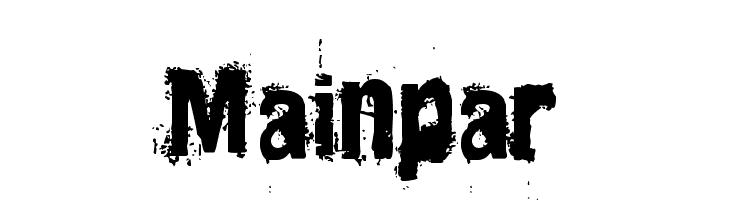 Mainpar  Free Fonts Download