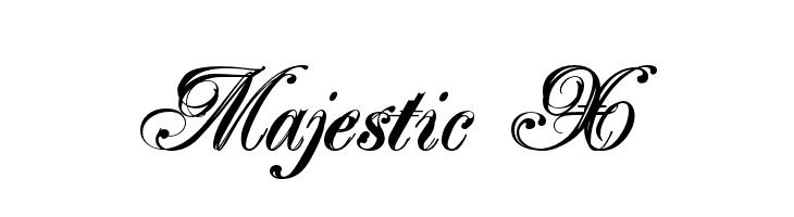 Majestic X  Free Fonts Download
