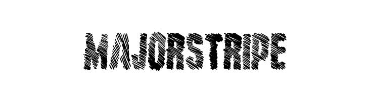 MajorStripe  Скачать бесплатные шрифты