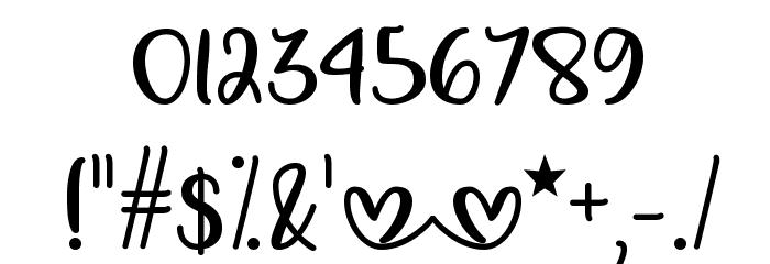 Make Magic Happen Шрифта ДРУГИЕ символов
