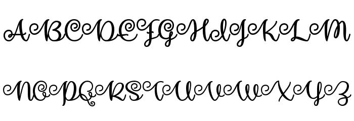 MakeMagicHappen Font Litere mari