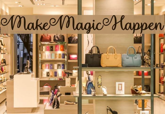 MakeMagicHappen フォント examples