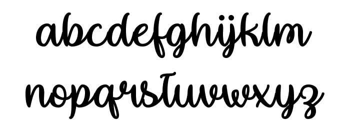 MakeMagicHappen Font Litere mici