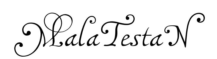 MalaTestaN Font