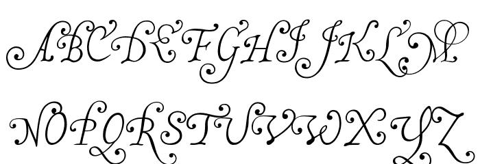 MalaTestaN Font Litere mari