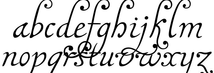 MalaTestaN Font Litere mici