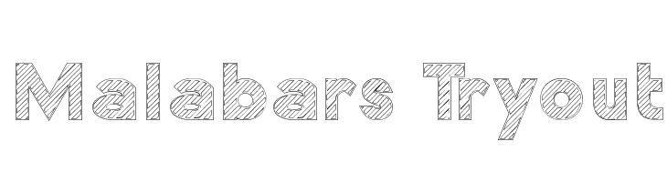 Malabars Tryout  Free Fonts Download