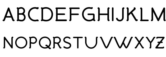 Malandrino Bold Font UPPERCASE