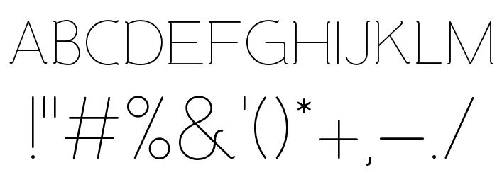 Malandrino Light لخطوط تنزيل حرف أخرى