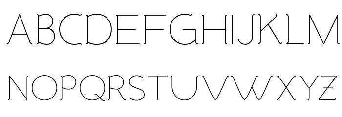 Malandrino Light لخطوط تنزيل الأحرف الكبيرة