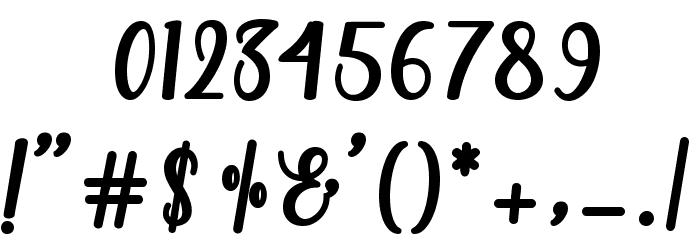 MandaScript Font OTHER CHARS