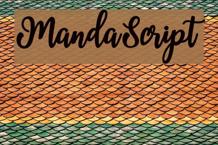 MandaScript Fuentes examples