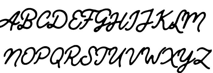 Mandatory-Script Caratteri MAIUSCOLE