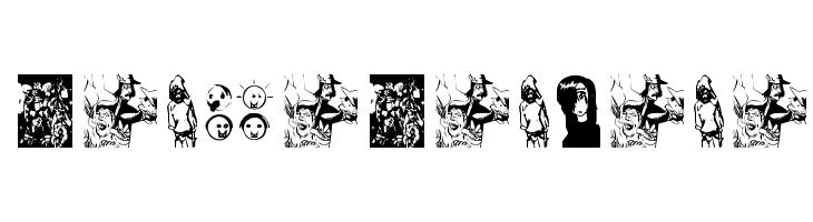 MangaManjana  Скачать бесплатные шрифты