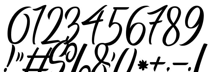 Manhatoones Script Caratteri ALTRI CARATTERI