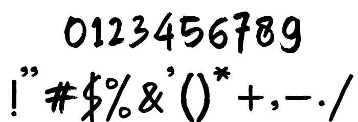 Manksa Font OTHER CHARS