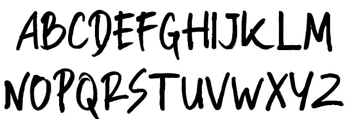 Manksa Font UPPERCASE