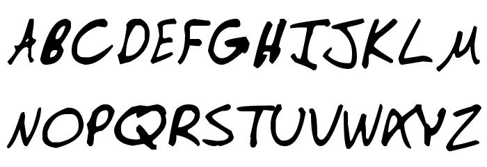 Manno لخطوط تنزيل الأحرف الكبيرة