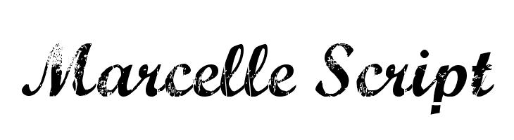 Marcelle Script  Free Fonts Download
