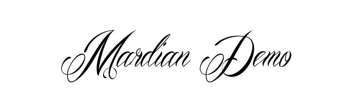 Mardian Demo  Free Fonts Download