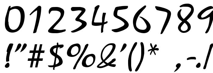 Mariah Regular Font OTHER CHARS