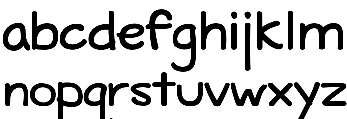 Maritime Tropical Bold Font LOWERCASE
