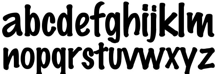Marker Felt Font LOWERCASE