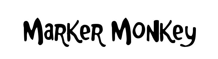 Marker Monkey  baixar fontes gratis