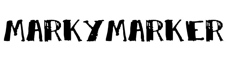 MarkyMarker  Fuentes Gratis Descargar