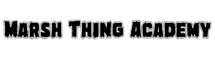 Marsh Thing Academy  لخطوط تنزيل